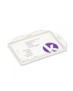 KANDINSKY Ausweishüllen aus PS Kunststoff, 90 x 60mm (40 Stück)